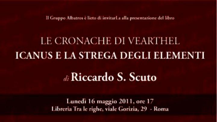 Riccardo S. Scuto presenta Icanus a Roma!