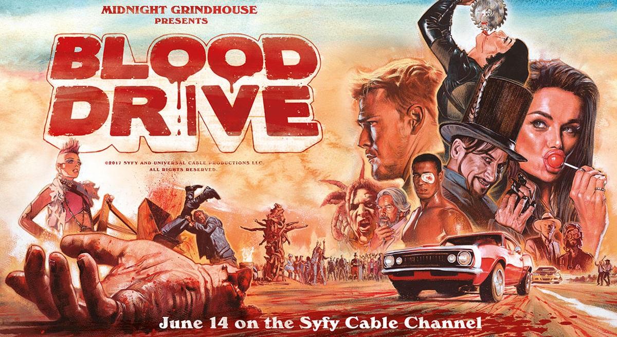 Blood Drive: Una serie TV fra horror e sci-fi!
