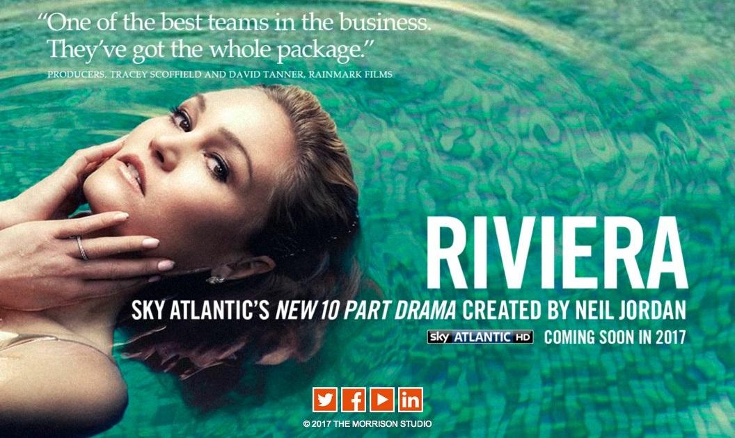 ...Il thriller Riviera sbarca su Sky Atlantic HD
