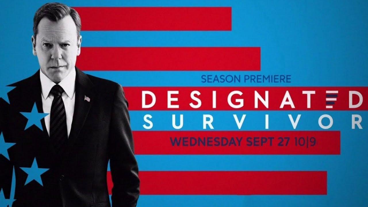 Kiefer Sutherland in Designated Survivor 2