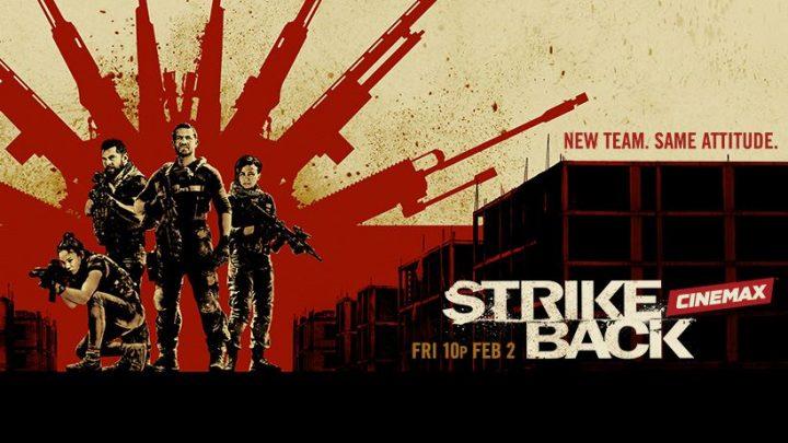 La serie action Strike Back torna in vita!