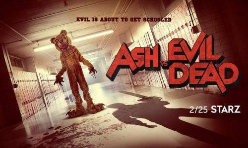 Arriva la stagione 3 di Ash vs. Evil Dead