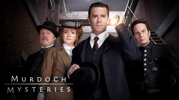 I Misteri di Murdoch torna in libreria e in TV