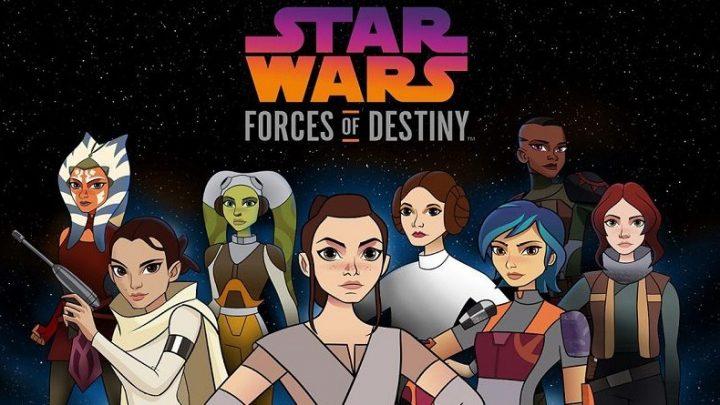 Star Wars: Forces Of Destiny sul web...