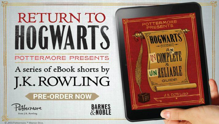 Harry Potter Sussidiario: Pottermore Presents