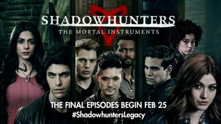 Arrivano gli episodi finali di Shadowhunters