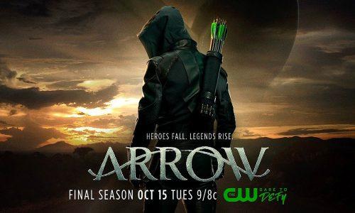Arriva in TV la stagione finale di Arrow…