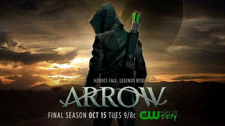 Arriva in TV la stagione finale di Arrow...