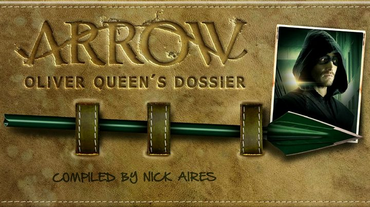 Scopriamo Arrow: Oliver Queen's Dossier